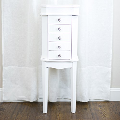 Hives and Honey 'ERIN' Jewelry Armoire, White