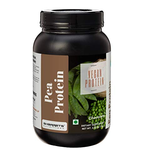 Sharrets Pea Protein Isolate Powder 80, 1Kg, Chocolate - Plant based Protein Powder, Vegan Soy Dairy Free Protein Powder… 2021 June Plant Based Protein Powder: 22g Non-GMO Vegan Protein, Soy free dairy free lactose free. I Halal Certified . Sharrets Nutritions Pea Protein is pure and natural, unflavored, and mixes easily into your favorite beverages. Pea Protein Shake : Delicious Shake, Amino Acids, Dietary Fiber, BCAA's, No Trans Fat Low Calorie: Plant Based Protein for vegans, vegetarians, low carb dieters, children and athletes.