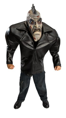 Big Bruiser Punk Zombie Children's Costume, Medium