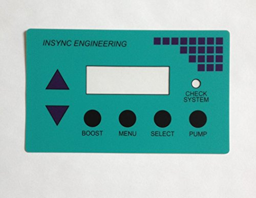 (AUTOPILOT POOL PILOT LBP0116 LABEL MFG'D BY INSYNC ENGINEERING)