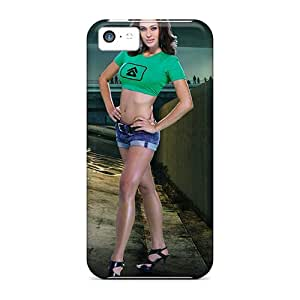 New Style Case Cover WLqDe1538UAWiw Blur Game Model Compatible With Iphone 5c Protection Case