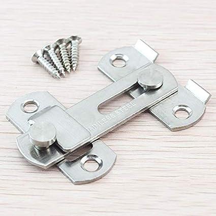 Amazon.com: Tornillos de puerta de acero inoxidable para ...