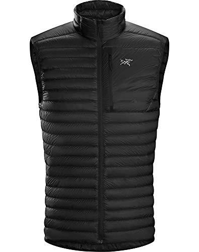 Arc'teryx Cerium SL Vest Men's,Black 1,Small (Mens Down Jacket 850 Fill)
