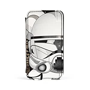 Clone Trooper 1 Premium Faux PU Leather Case, Protective Hard Cover Flip Case for Apple? iPhone 4 / 4s by Gangtoyz + FREE Crystal Clear Screen Protector
