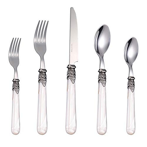 Stainless Steel Silverware Set - 60-Piece Royal Flatware Set