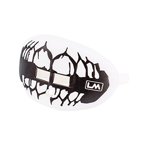 fier Lip Protector Mouthguard (Skull Teeth - Ghost White) ()