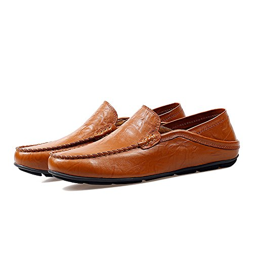 Lapens Lplfs1587, Mocassini Uomo Nero Black, Marrone (Red Brown 1), 40 EU