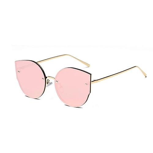 Winwintom Vintage espejo de estilo ojo de gato Gafas de sol de marca Retro Classic