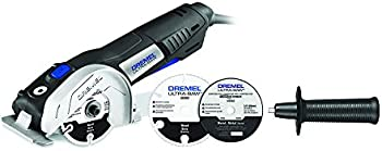 Dremel US40-02 7.5-Amp Corded 4.5 in. Ultra-Saw Tool Kit