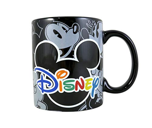 mickey mouse coffee mug black - 2