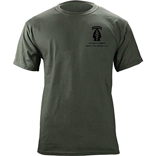 - USAMM Customizable Army Special Forces Full Color Veteran T-Shirt (X-Large, Green)
