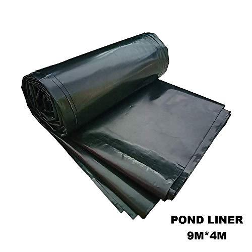 Suncool HDPE Pond Liner Garden Ponds Membrane Reinforced Landscaping Black 9Mx4M