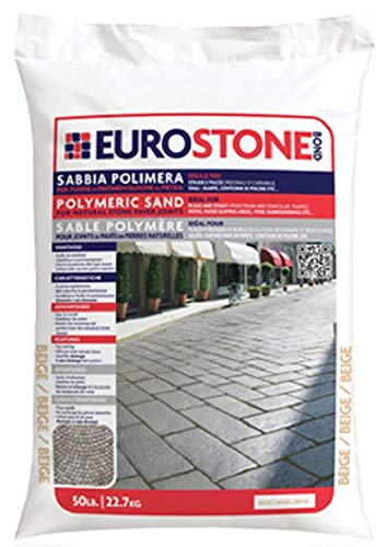 Alliance Euroston Bond Polymeric Sand,for Natural Stone and Cobble Stone Paver Joints up to 1.5