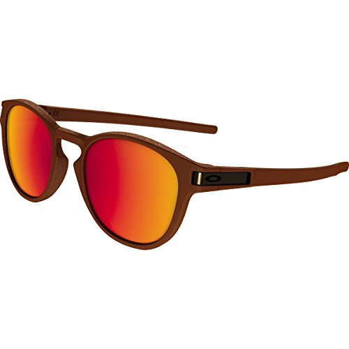 Oakley Adult Latch Sunglasses, Corten/Torch Iridium, One - Sunglasses Razor Oakley