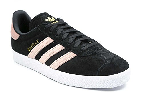 adidas Women's Gazelle W Fitness Shoes Black (Negbas/Rosnat/Metdor)