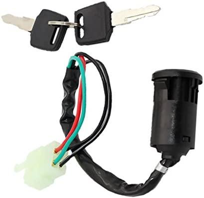 Sharplace Llave de Interruptor de Ignici/ón de Moto para 50cc 110cc 125cc 250cc PIT Quad Dirt Bike ATV