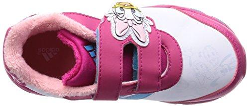 adidas Disney Classic CF I - Zapatillas para niños Blanco / Azul / Rosa