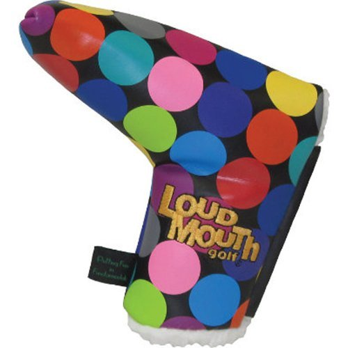 LoudMouth Golf Disco Balls Magnetic Putter Cover NEW by Winning ()