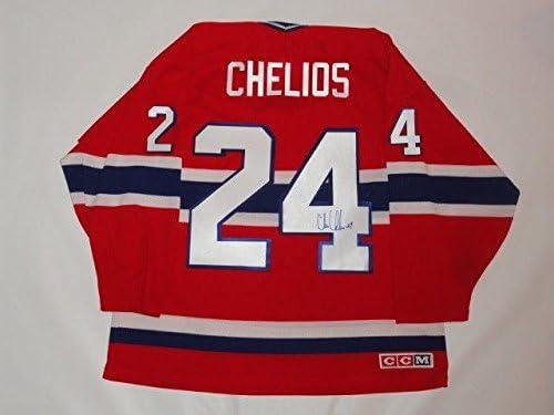 Autographed Chris Chelios Jersey -  24 Ccm Vintage Proof - JSA Certified -  Autographed NHL Jerseys 1a1ef695a