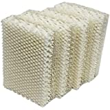 Air Filter Factory (4 Pack) Compatible Replacement for Kenmore 1445630, 144531, 144533, 154140, 154200 Humidifier Wick Filters