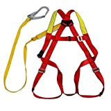 Full Body Harness, high Altitude Protection, Power Detection seat Belt Set