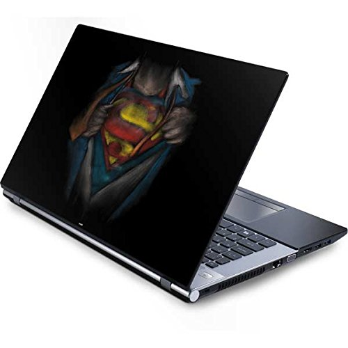 (Skinit DC Comics Superman Generic 17in Laptop (15.2in X 9.9in) Skin - Superman Chalk Design - Ultra Thin, Lightweight Vinyl Decal Protection)