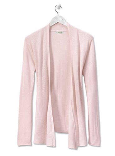 orvis-womens-favorite-fine-gauge-waterfall-cardigan-heathered-rose-x-small