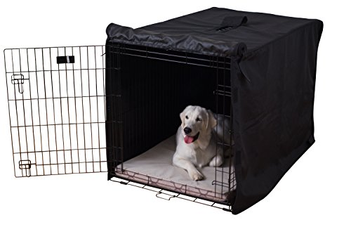 K9 Ballistics TUFF Crate Cover Black - Medium (42