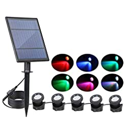 Solar lámpara para exteriores