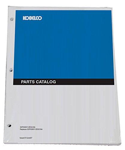 Kobelco SK210-8 Acera Mark 8 Excavator Parts Catalog Manual - Part Number # YN91Z00029D6NA - Excavator Parts Book