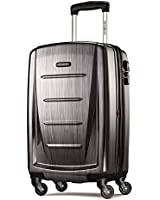 Samsonite Luggage Winfield 2 Fashion HS Spinner 20, Charcoal, 20-Inches