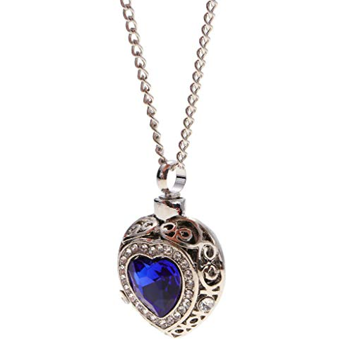 Luxury Vintage Heart Urn Pendant Chain Necklace Memorial Jewelry Elegant Necklace Jewelry Crafting Key Chain Bracelet Pendants Accessories Best