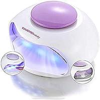 TOUCHBeauty Elektrischer Nageltrockner mit Luft und 3 LED-UV Licht Gut für Normalen Nagellack AG-0889