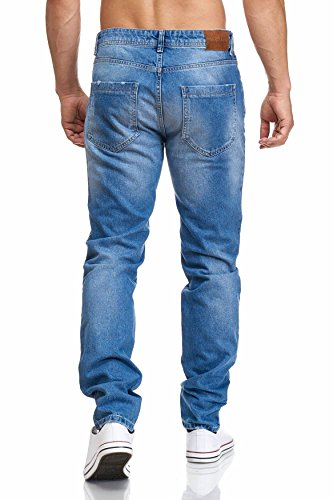 MADDU Herren Blue Jeans Hose Freizeit Clubwear Jeans Blau 2019