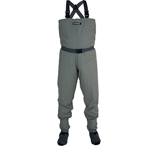COMPASS 360 Stillwater Breathable Stockingfoot Chest Wader (Large)
