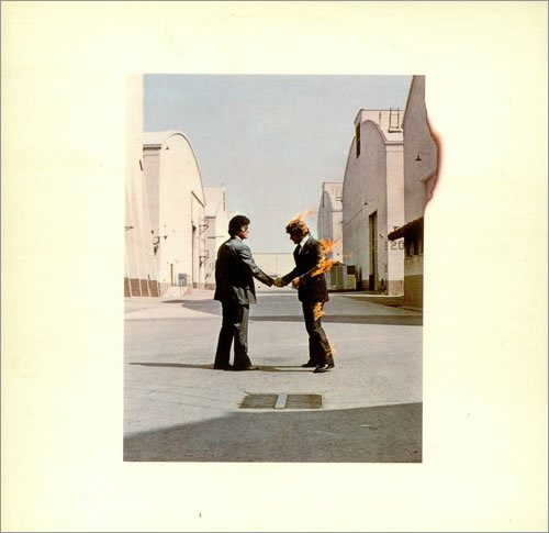 WISH YOU WERE HERE VINYL LP WITH INNER NO POSTCARDS[SHVL814]1975 [Audio CD] U... (The 1975 Postcard)