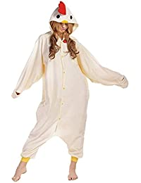 Adult Unisex Pajamas Halloween Costume Animal Onesie Cosplay Sleepwear