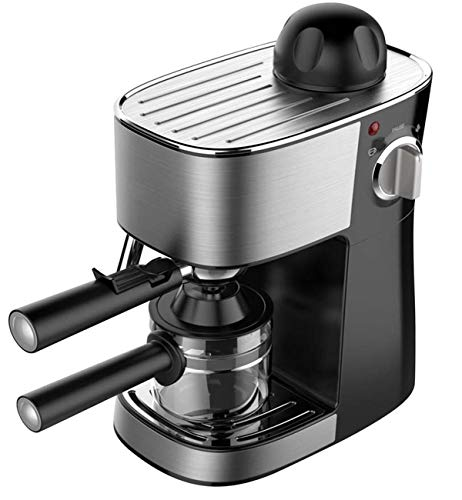 - Powerful steam Espresso and Cappuccino Maker Barista Express Machine Black - Make European Espresso