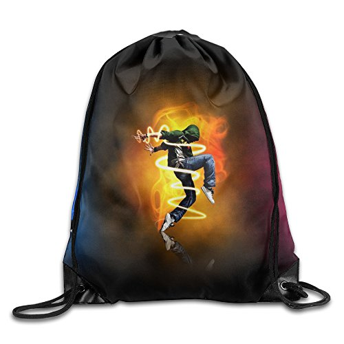 Parkour Extreme Sports Drawstring Storage Bag Drawstring Backpack For Men & Women School Travel Backpack by Cshoes