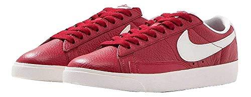 Blazer Herringbone Nike (Nike Womens Blazer Low PRM Basketball Shoe Gym Red/Ivory 454471 601 (US 12))