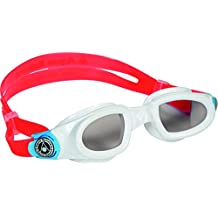 Aqua Sphere Moby Swimming Goggles - White/Aqua/Tinted