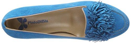 Blu Donna Mocassini Di Kiwi Pinto A57SOw7q