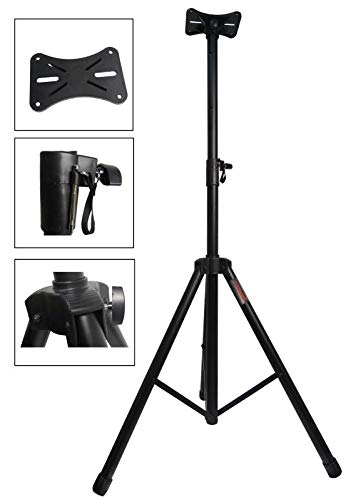 STARAUDIO Universal Speaker Metal Stand Mount Holder Heavy Duty Tripod With Adjustable Height From 40