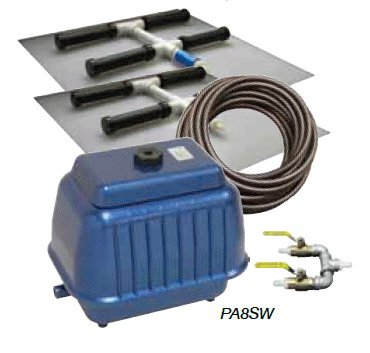 EasyPro PA8SW Dual Diffuser Shallow Pond Aeration Kit