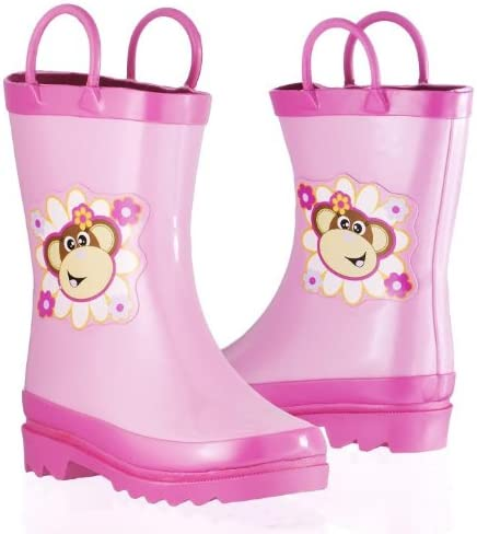 PAW PATROL GIRLS TODDLER WINTER BOOTS SIZE 7 C SLIP ON INSULATED WATERPROOF