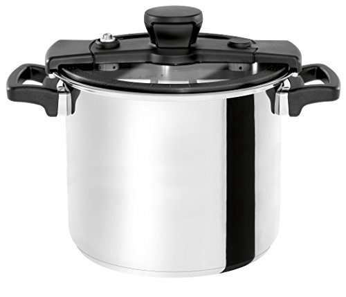 Wisconsin Aluminum S10B The Sizzle 10 Liter Pressure Cooker44; Black by Wisconsin Aluminum