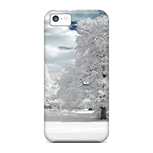 Fashion Tpu Case For Iphone 5c- Winter 907 Defender Case Cover