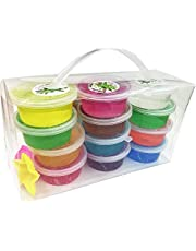 Soft Slime Toy Magic Colorful Clay Toy 12 Box of Slime with 4 Color pack of 1
