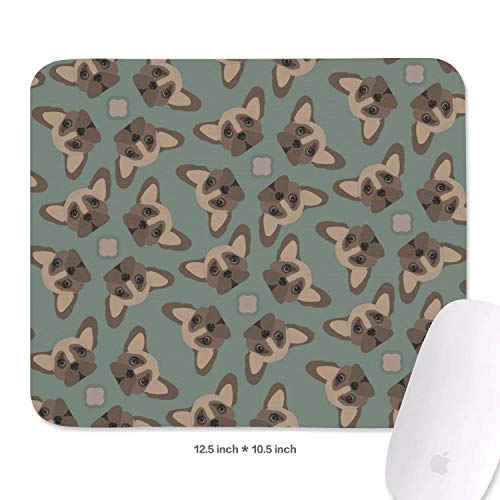 Mouse Pad Non-Slip Mouse Mat French Bulldog Mousepad for Computer,Laptop,Office & Gaming