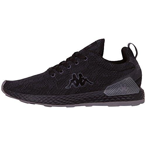 Black Escape Low Unisex Adults' Kappa Sneakers Black 1111 Top gq06WdZ